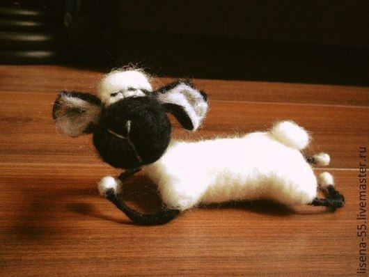 Игрушки животные, ручной работы. Ярмарка Мастеров - ручная работа. Купить Барашек Данко. Handmade. Баран, овца, сувенир