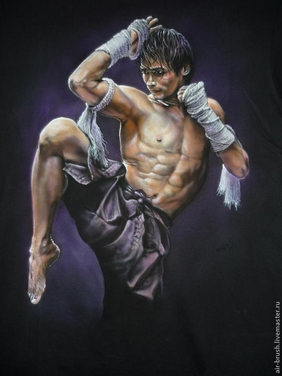 T-shirt 'Muay Thai', T-shirts, Nizhny Novgorod,  Фото №1