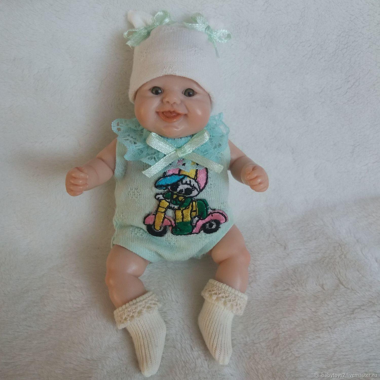 Мини реборн девочка из полимерной глины, Куклы Reborn, Чита,  Фото №1