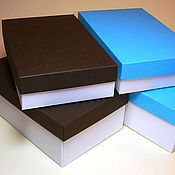 Сувениры и подарки handmade. Livemaster - original item Packing box: Box of designer paper. Handmade.
