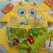 Детские кармашки для кроватки своими руками 804