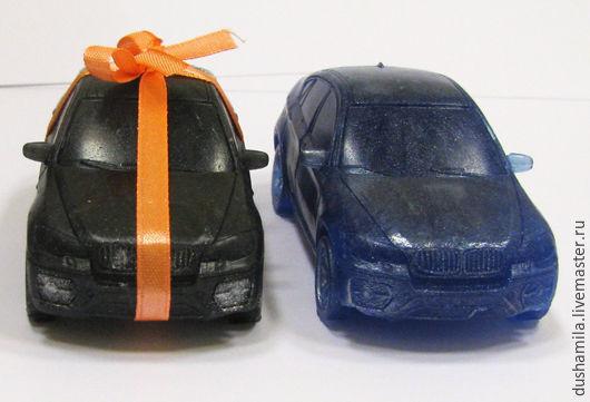 """Мыло ручной работы. Ярмарка Мастеров - ручная работа. Купить Мыло """"BMW X-6"""". Handmade. Темно-серый"""