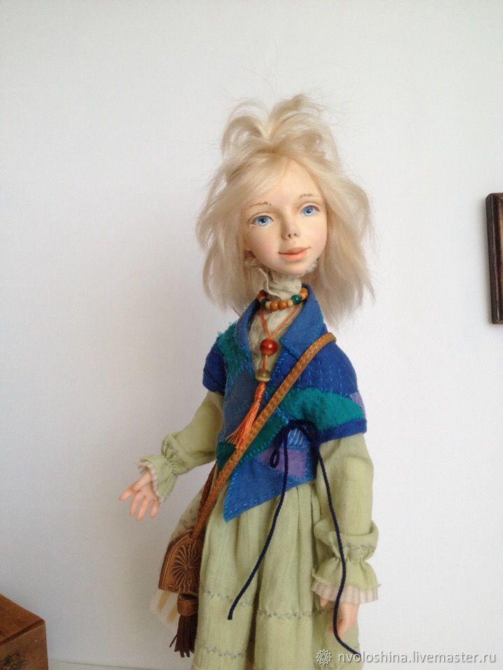 Частично-подвижная коллекционная кукла Мария, Куклы и пупсы, Симферополь,  Фото №1