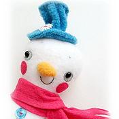 Куклы и игрушки ручной работы. Ярмарка Мастеров - ручная работа Сеня. СнеговичОк. Игрушка для детей. Handmade.