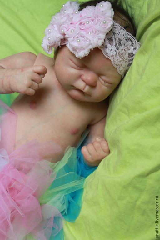 Куклы-младенцы и reborn ручной работы. Ярмарка Мастеров - ручная работа. Купить кукла реборн  Джулианна. Handmade. Бежевый