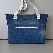 Сумки и аксессуары handmade. Livemaster - original item Tote: PARMIGIANI Denim Bag. Handmade.