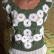 Одежда ручной работы. Ярмарка Мастеров - ручная работа Композиция из листьев. Handmade.