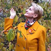 """Украшения ручной работы. Ярмарка Мастеров - ручная работа """"Осенний лист"""" Брошь. Handmade."""
