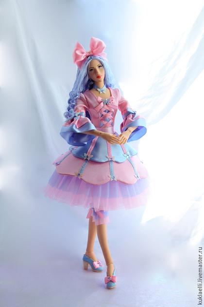 Коллекционные куклы ручной работы. Ярмарка Мастеров - ручная работа. Купить Повзрослевшая Мальвина. Handmade. Кукла, подвижная кукла, синтепух