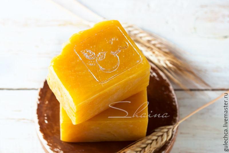 ПШЕНИЧНОЕ мыло с нуля натуральное. Подарок женщине, Мыло, Щелково,  Фото №1
