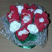 Цветы и флористика handmade. Livemaster - original item bouquet of sweets. Handmade.