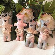 Куклы и игрушки handmade. Livemaster - original item Pocket bears. Handmade.