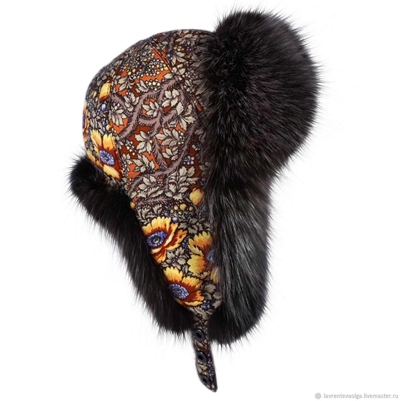 Hats handmade. Livemaster - handmade. Buy Ushanka.Russian style 3fdc69bda16