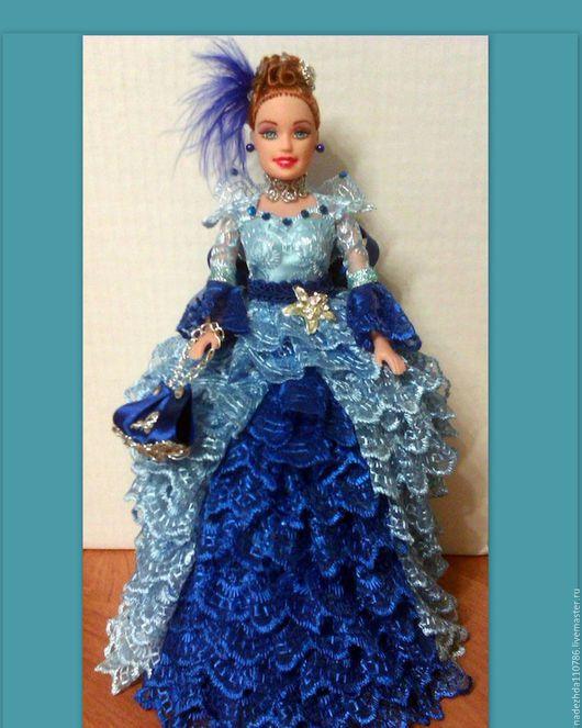 Шкатулки ручной работы. Ярмарка Мастеров - ручная работа. Купить Кукла Шкатулка. Handmade. Комбинированный, Кукла для интерьера, атласная лента
