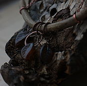 """Украшения ручной работы. Ярмарка Мастеров - ручная работа Подвеска """"Листва"""". Handmade."""