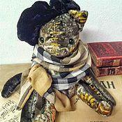 """Куклы и игрушки ручной работы. Ярмарка Мастеров - ручная работа Тедди кот """" Маэстро"""". Handmade."""