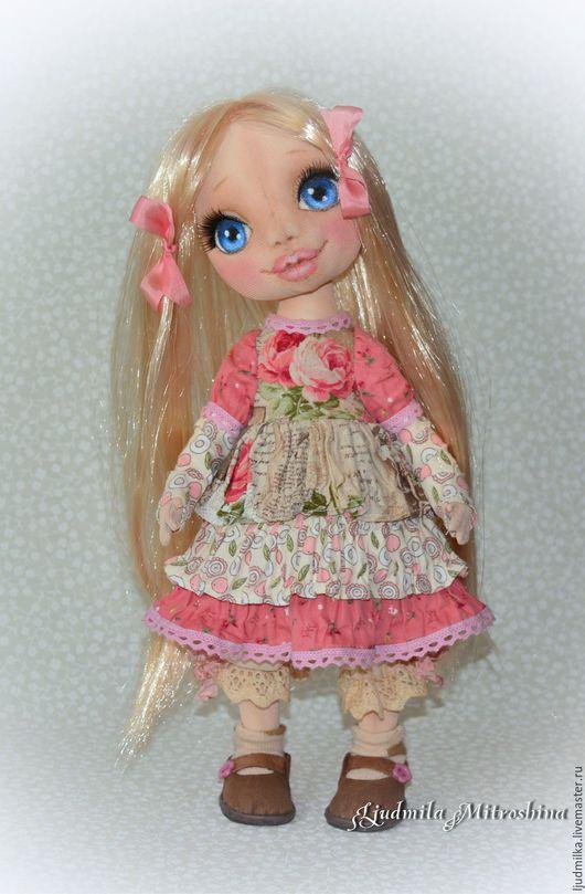 Коллекционные куклы ручной работы. Ярмарка Мастеров - ручная работа. Купить Дашенька. Handmade. Ручная работа, интерьерная кукла