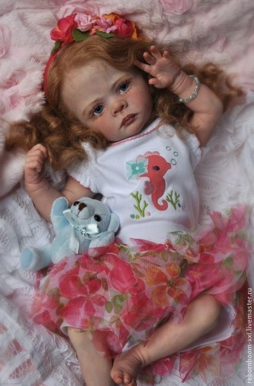 """Куклы и игрушки ручной работы. Ярмарка Мастеров - ручная работа. Купить Лимитированный распроданный Молд """"Elf-Ira"""" Karola Wegerich. Handmade."""