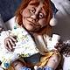 Коллекционные куклы ручной работы. Ярмарка Мастеров - ручная работа. Купить Хранитель снов. Handmade. Сонный ангел, для спальни, белый
