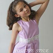 """Работы для детей, ручной работы. Ярмарка Мастеров - ручная работа Платье """"Для юной модницы"""". Handmade."""