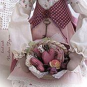 Куклы и игрушки ручной работы. Ярмарка Мастеров - ручная работа Прованс ... Домашний Тильда  ангел. Handmade.