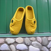 """Обувь ручной работы. Ярмарка Мастеров - ручная работа валяные тапочки """" Загадки Египта"""". Handmade."""