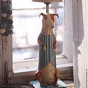 Для дома и интерьера ручной работы. Ярмарка Мастеров - ручная работа Лампа Фокстерьер. Handmade.