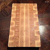 Для дома и интерьера handmade. Livemaster - original item Cutting Board, end array of ash.4.17.. Handmade.