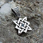Русский стиль handmade. Livemaster - original item Amulet Star of Russia (with blackening). Handmade.