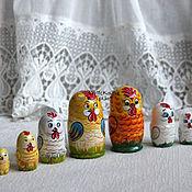 Подарки к праздникам ручной работы. Ярмарка Мастеров - ручная работа Петушок матрешка. Handmade.