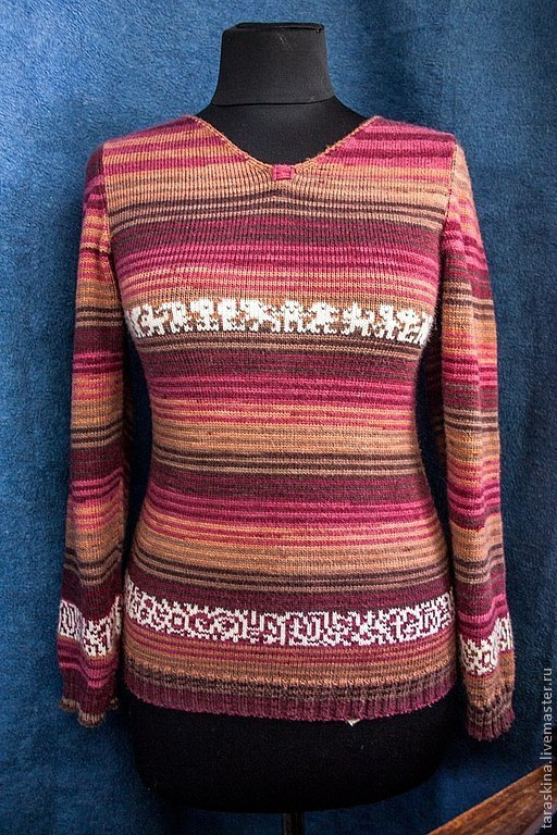 Кофты и свитера ручной работы. Ярмарка Мастеров - ручная работа. Купить любимый свитер. Handmade. Орнамент, свитер вязаный, теплый