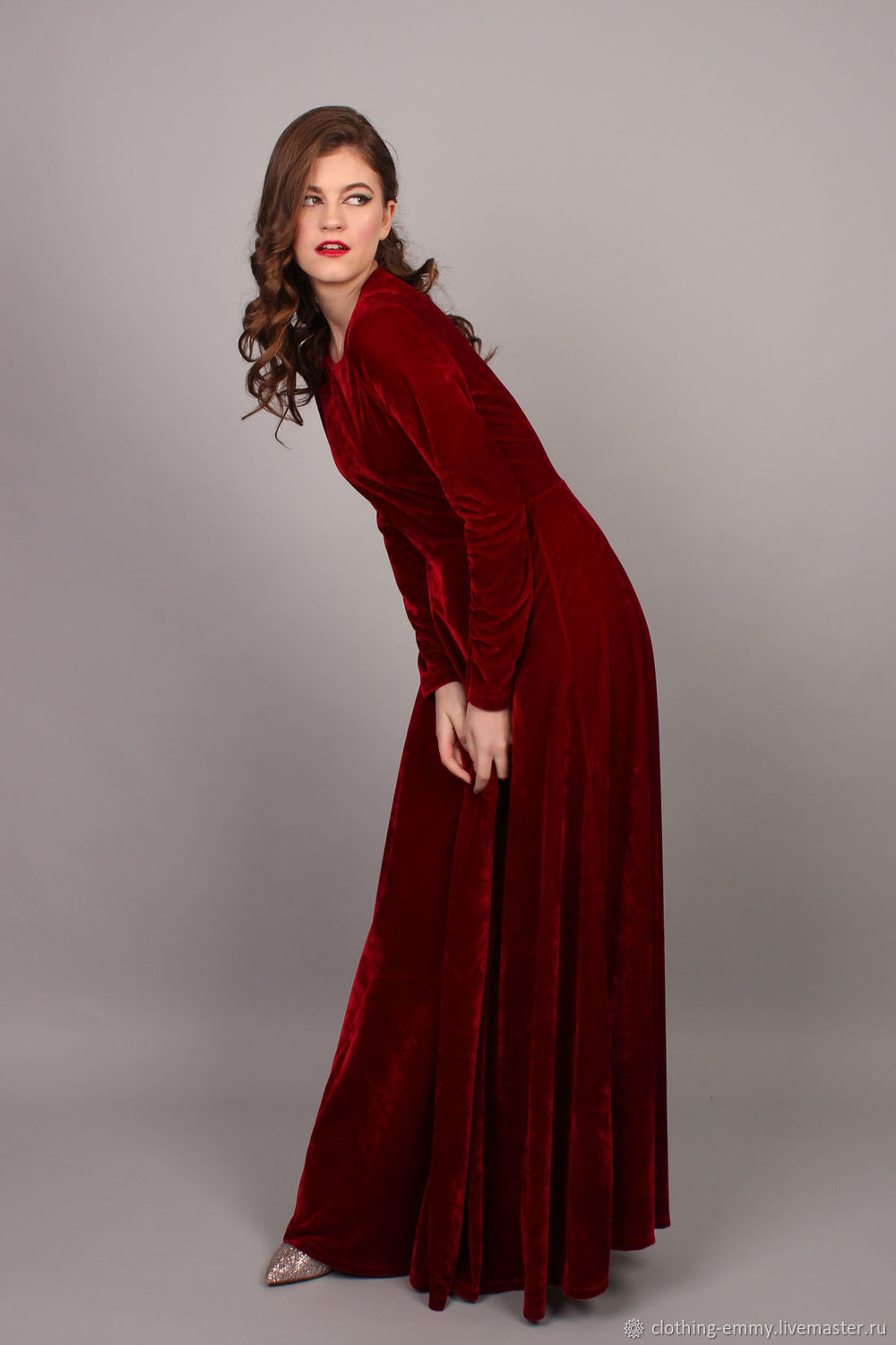 2396a5faa62a Velvet Christmas dress. Emmy. Online shopping on My Livemaster. New year