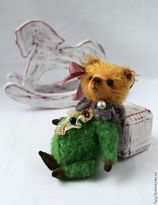 Мишки Тедди ручной работы. Ярмарка Мастеров - ручная работа. Купить Мишка Тедди Ёлка. Handmade. Мишка тедди