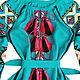 """Длинное платье с клиньями """"Лесная Песня"""". Dresses. Plahta Viktoriya. Online shopping on My Livemaster.  Фото №2"""