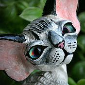 Куклы и игрушки handmade. Livemaster - original item Cassiopeia. Devon Rex. Handmade.