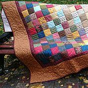Для дома и интерьера ручной работы. Ярмарка Мастеров - ручная работа Лоскутное покрывало Печки-лавочки. Handmade.