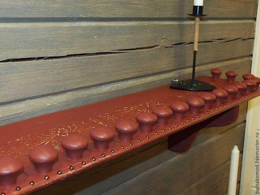"""Мебель ручной работы. Ярмарка Мастеров - ручная работа. Купить Полка-балкончик """"Андалусия"""". Handmade. Мебель, Испания, дерево"""