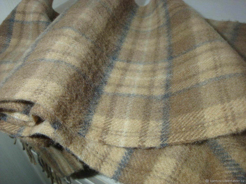 ae5297d8f021 Купить Винтаж  Винтажный шарф Винтажная одежда и аксессуары. Винтаж   Винтажный шарф Клетка 100% кашемир.