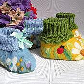 Работы для детей, handmade. Livemaster - original item booties