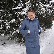 Одежда handmade. Livemaster - original item Jacket-convertible to snow-skirt. Handmade.