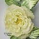 """Цветы ручной работы. Ярмарка Мастеров - ручная работа. Купить Шелковый цветок Роза """"Бланш"""". Цветы из шёлка. Handmade. Роза"""