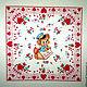 Шитье ручной работы. панель My Funny Valentine, 59х112 см.. Евгения (all for quilt). Ярмарка Мастеров.