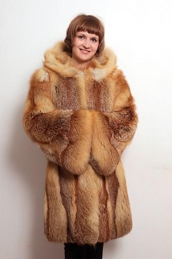 """Верхняя одежда ручной работы. Ярмарка Мастеров - ручная работа. Купить Шуба из лисы """"Боярыня"""". Handmade. Шуба, лиса, рыжий"""