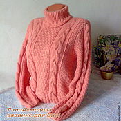 Одежда handmade. Livemaster - original item Knitted sweater