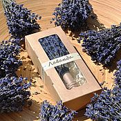 Цветы и флористика handmade. Livemaster - original item Lavender bouquet in a box. Home. for the interior. For gift.. Handmade.
