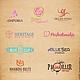 Визитки ручной работы. Логотип, фирменный стиль. 'E l f i DESIGN'. Интернет-магазин Ярмарка Мастеров. лого