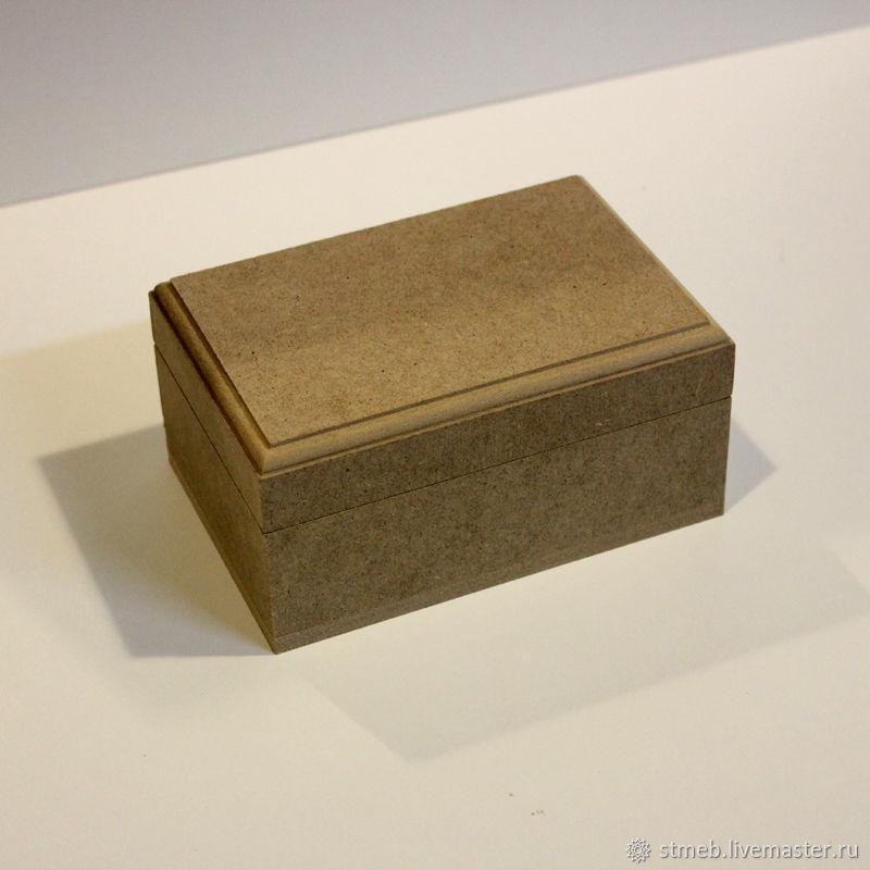 Шкатулка П1015в7 (10х15х7 см) заготовка для декупажа, росписи