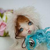 Куклы и игрушки ручной работы. Ярмарка Мастеров - ручная работа Зося.зайка,тедди долл. Handmade.