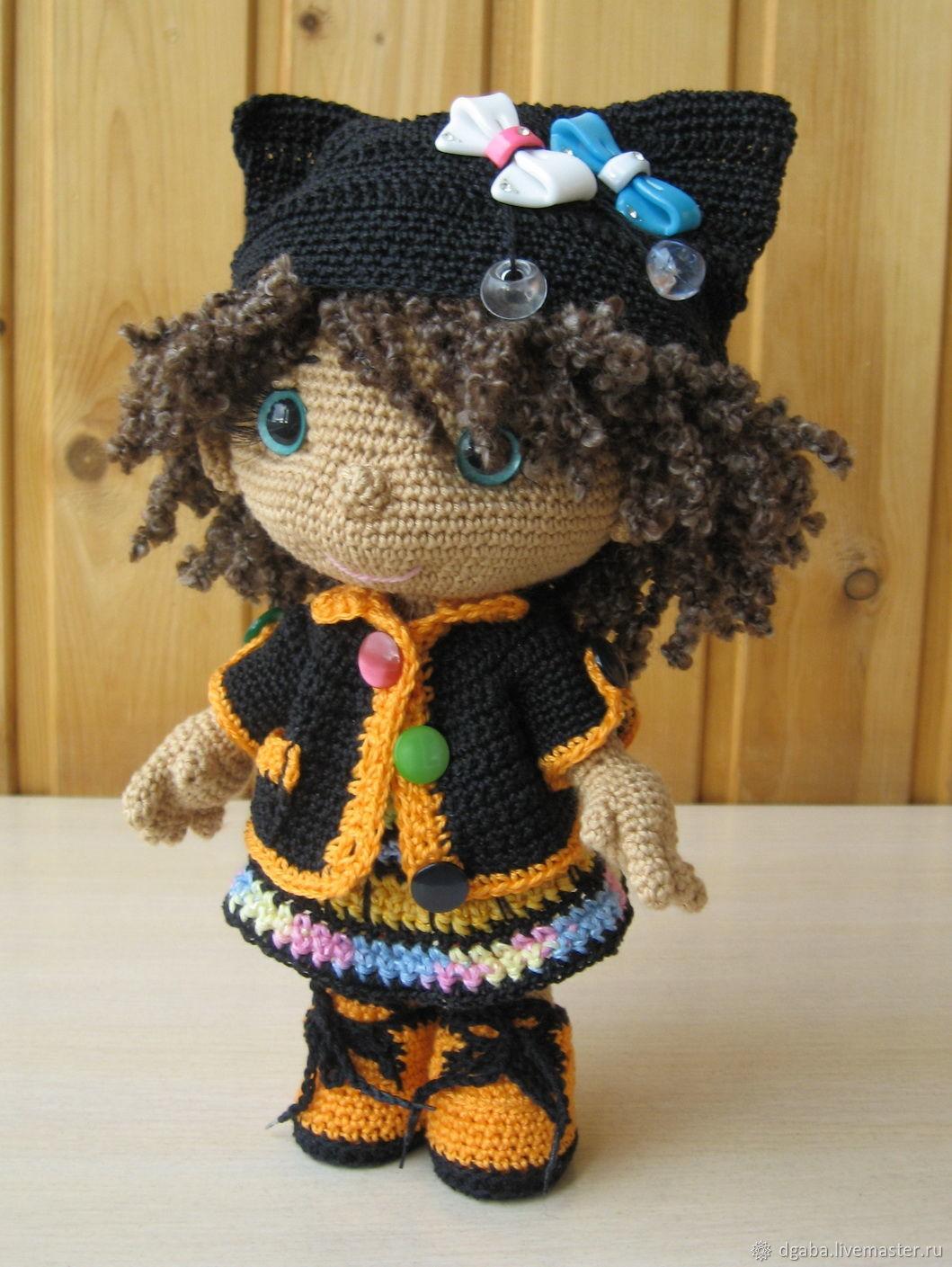 Маняша- кукла крючком, Схемы для вязания, Томск,  Фото №1