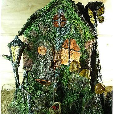 Для дома и интерьера ручной работы. Ярмарка Мастеров - ручная работа Домики: Желтые поганки. Handmade.